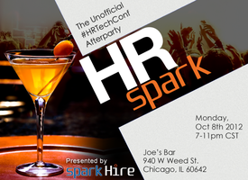 HR SPARK: The Unofficial HR Tech Afterparty Hosted by...