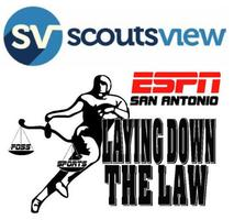"ScoutsView Sports & ESPN radio's ""Laying Down the Law""..."