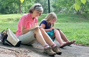 Spring Journaling in the Gardens