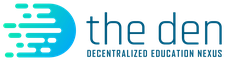 The DEN | Decentralized Education Nexus logo