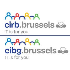 Centre d'Informatique pour la Région Bruxelloise (CIRB) / Centrum voor Informatica voor het Brusselse Gewest (CIBG) logo