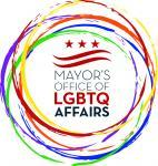 Mayor's Office of  Affairs  Lesbian, Gay, Bisexual, Transgender and Questioning logo