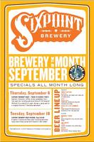 Sixpoint Brewery Beer Pairing Night