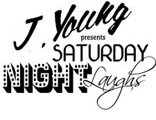 """YOUNG LIFE PROMOTIONS """"J.YOUNG PRESENTS"""" logo"""
