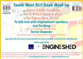 South West Girl Geek Meet up