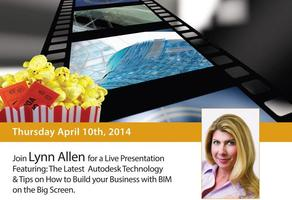 Lynn Allen Live at the Movies Featuring: Autodesk 2015...
