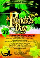QUAY St Patricks Day Celebration 2014