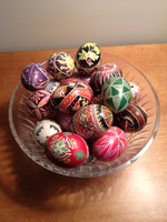 Ukrainian Easter Egg Craft