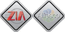 Alfresco and Zia Consulting logo