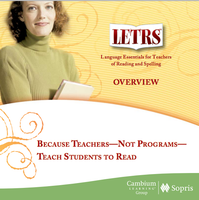 LETRS Foundation Training