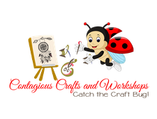 Contagious Crafts and Workshops  logo