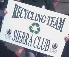 Dallas Sierra Club Recycling Team for St. Paddy's Day...