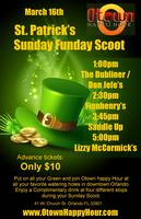 St. Patrick's Sunday Funday Scoot 2014