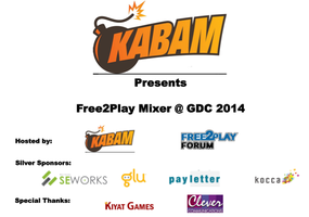 Kabam Presents: Free2Play Forum Mixer @ GDC 2014
