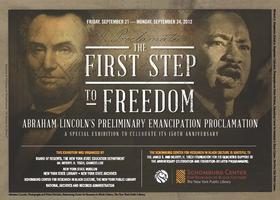 Exhibition: The First Step to Freedom- Saturday,...