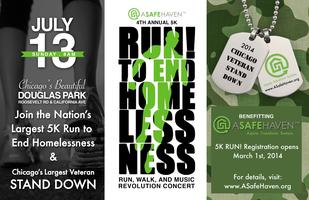 A SAFE HAVEN FOUNDATION'S 4th ANNUAL 5K RUN! TO END...