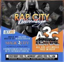 TONIGHT: A3C Kickoff Party! Rap City Wednesday's