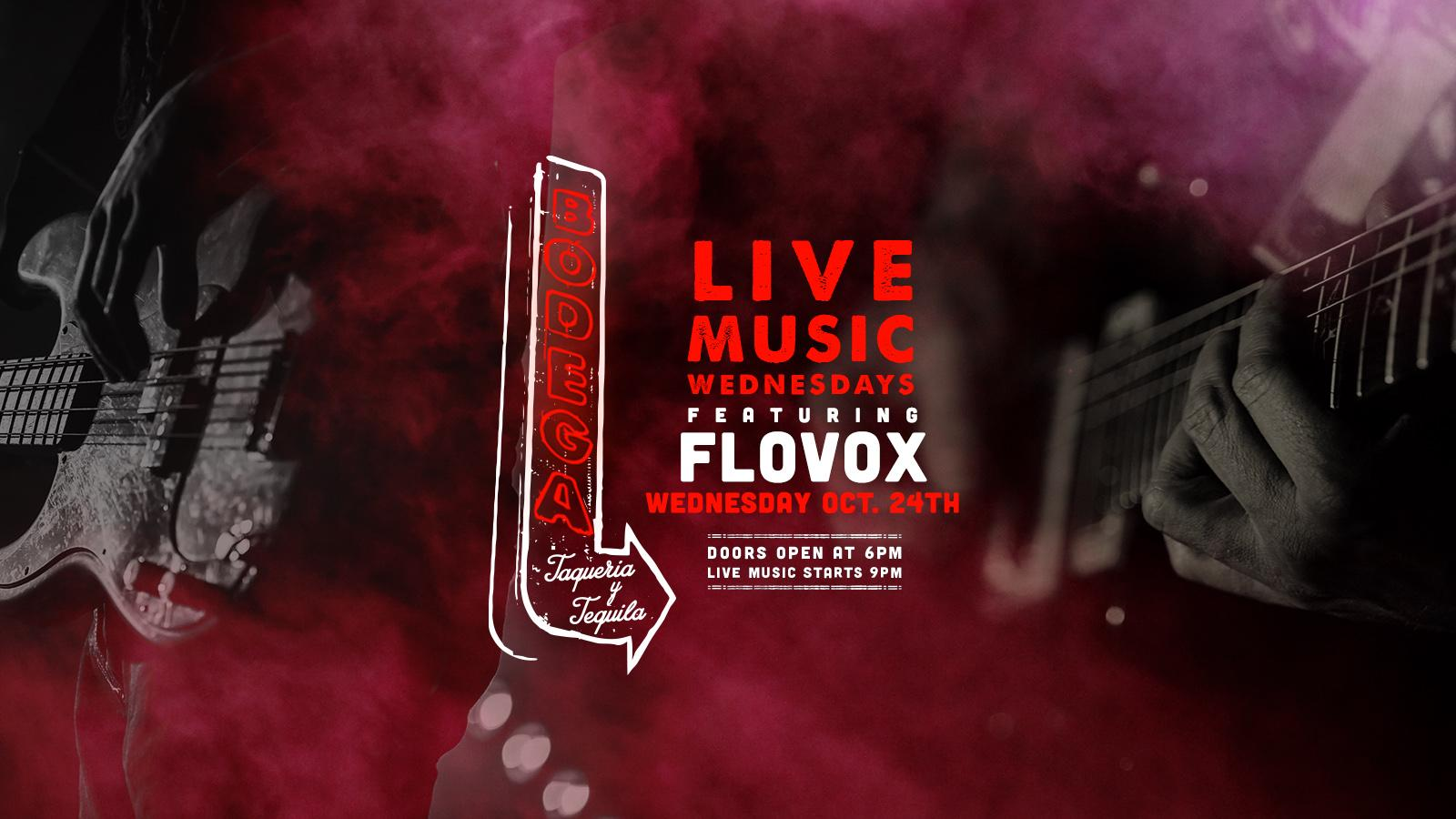 Live Music by FloVox at Bodega Taqueria y Tequila