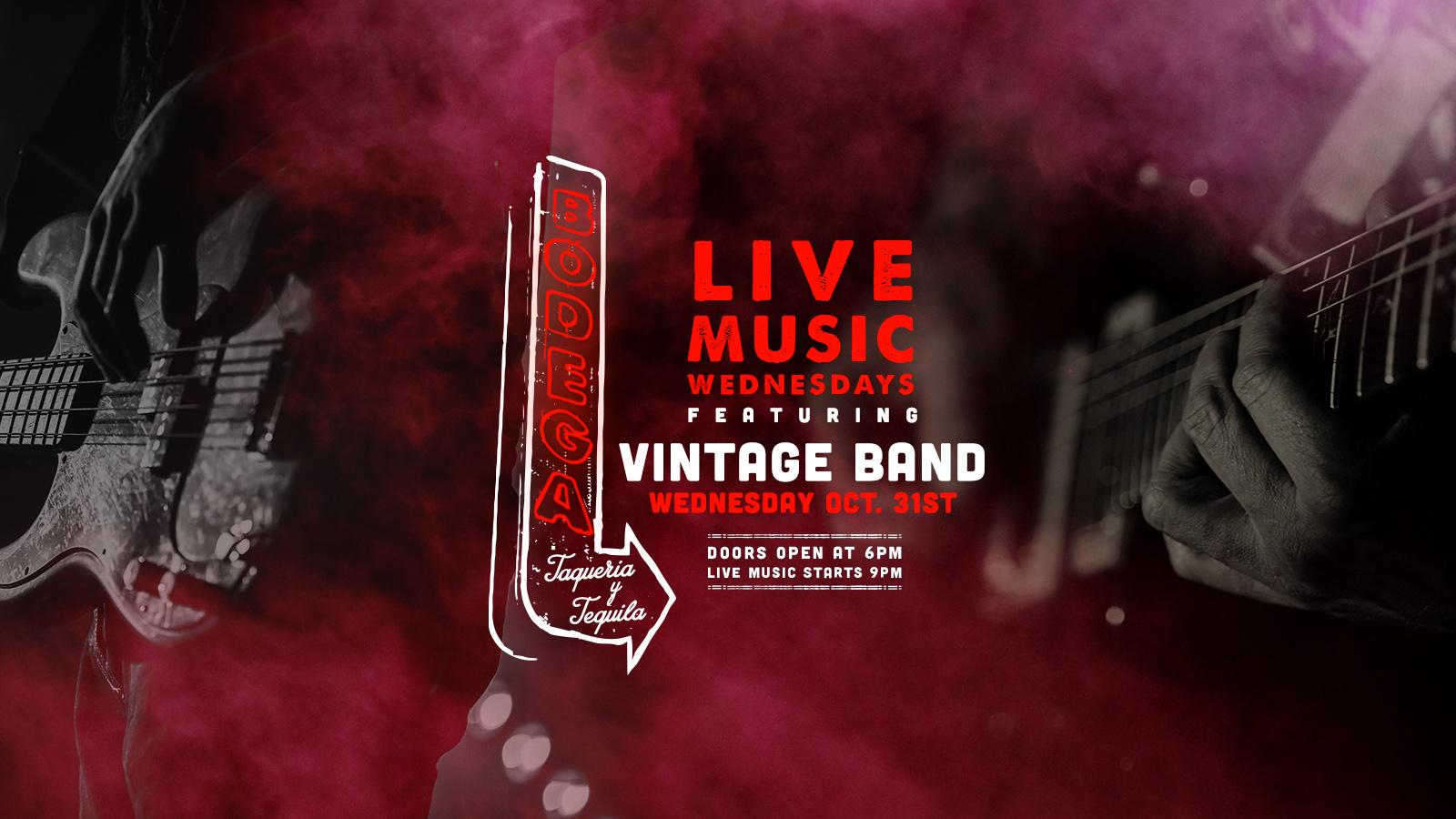 Live Music by Vintage Band at Bodega Taqueria y Tequila