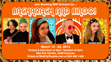 "CABARET MONTH - Running With Scissors' ""Bacharach &..."
