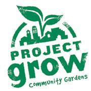 Project Grow Community Gardens logo