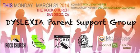 DYSLEXIA Parent Support Group