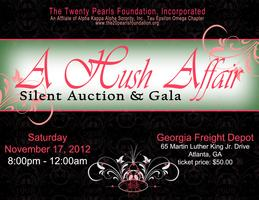 A Hush Affair Silent Auction and Gala