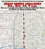 FREE running event Mar. 22: Great Cherry Challenge...