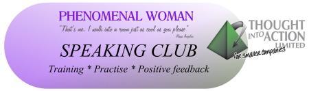 Phenomenal Woman Speaking Club Training Session 4