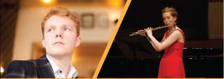 Joseph Shiner - Clarinet & Jennifer Dyson- Flute