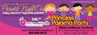 Parents Night Out & Princess Pajama Party