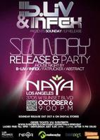"INFEX & B-LIV PRESENTS  ""Sounday EP Release Party  """