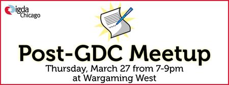 Post-GDC Meetup 2014