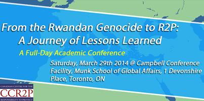"""From the Rwandan Genocide to R2P: A Journey of..."