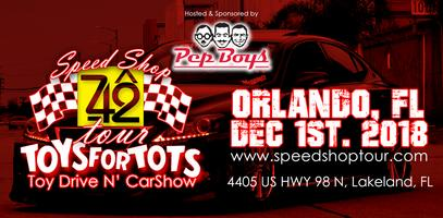 The Speed Shop Tour Car Show Toys For Tots Orlando FL Tickets - Toys for tots car show 2018