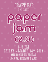 Craft Bar Chicago Paper Jam 2.0