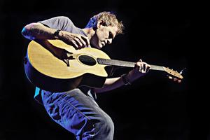 Martyn Joseph performing at the Sundre Arts Centre