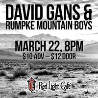 TDawg Presents: David Gans & Rumpke Mountain Boys