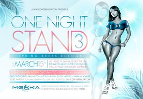 ONE NIGHT STAND 3 SAT. MARCH 15