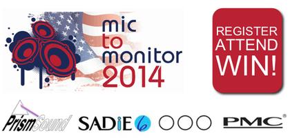 Mic to Monitor USA Tour 2014 UNIVERSITY OF MIAMI