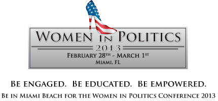 Women in Politics Conference 2013 & EXPO - 2 Day General...