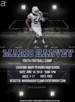 Mario Harvey Youth Football Camp
