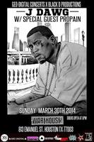 J-DAWG & PROPAIN IN CONCERT AT WAREHOUSELIVE | SUNDAY...