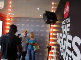 David Benjamin TV hosts The Biggest Fan Tour