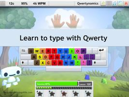 Children learning to type Qwertynomics