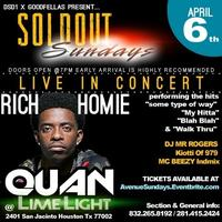 RICH HOMIE QUAN CONCERT April 6th