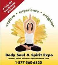 The Body Soul & Spirit Expo logo