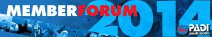 Vitoria 2014 PADI Member Forum