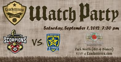 Scorpions Watch Party vs Minnesota Stars