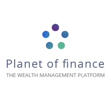 Planet of finance logo
